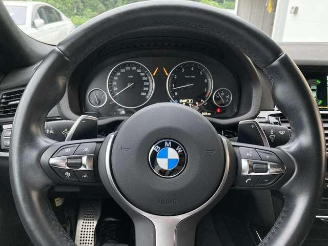 操作性に優れたステアリングは、BMWの走りを支える大事な部品です。オーディオやハンズフリー通話、クルーズコントロール関連の操作もこちらに集約されています。