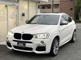 BMW X4 M40i 4WD ワンオーナー下取車 左ハンドル 直6