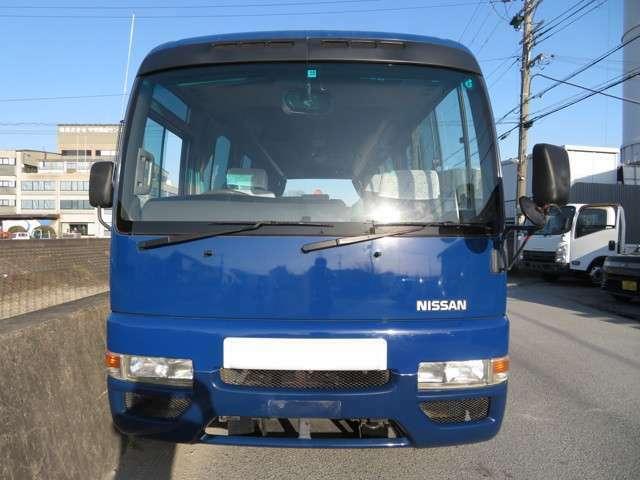 平成14年9月 初度登録 ニッサン シビリアン マイクロバス 乗車定員:29名 AT・2ペダル ディーゼルターボです!