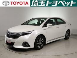 トヨタ SAI 2.4 G メモリーナビ フルセグTV 純正アルミ
