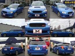 全方向画像です。今も人気のBP5型レガシィで人気の高いWRブルー色です☆特別仕様車「2.0GTスペックB tuned by STI」です(^^)v