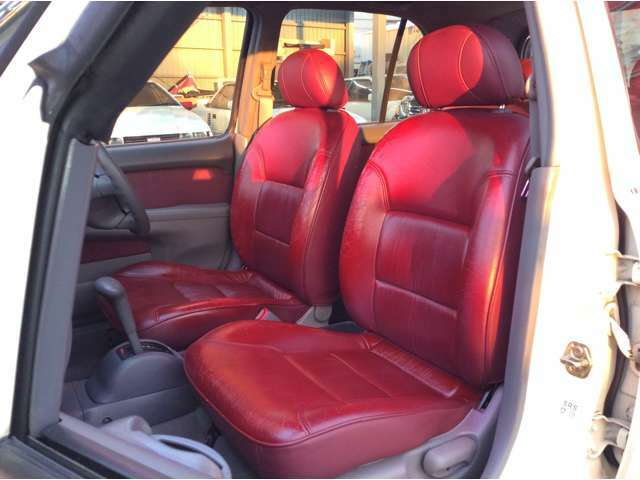 ファイナルモデル限定車10周年アニバーサリー車 赤革シート オートエアコン