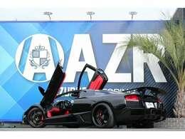 2005y ランボルギーニ 正規ディーラー車 ムルシエラゴ LP-620 ローダウン コナーセンサー カーボンステアリング バックカメラ サイドカメラ レッドキャリパー レッドレザー