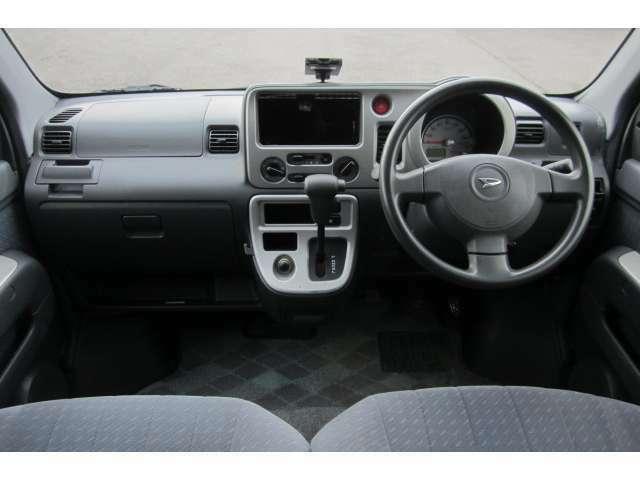 車内は異臭も無く清潔感溢れる車内空間となっております!