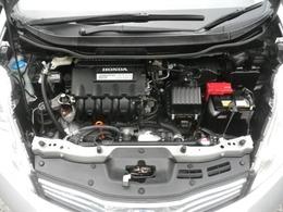 1.3リッタータイミングチェーン式エンジン。