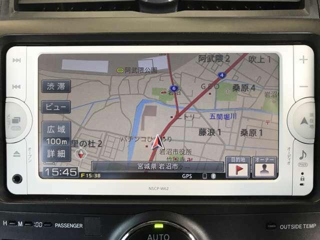 ナビ ワンセグ リアカメラ Bluetooth NSCP-W62