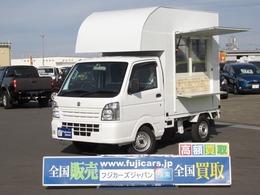 スズキ キャリイ 660 KCエアコン・パワステ 3方開 移動販売 キッチンカー フードトラック