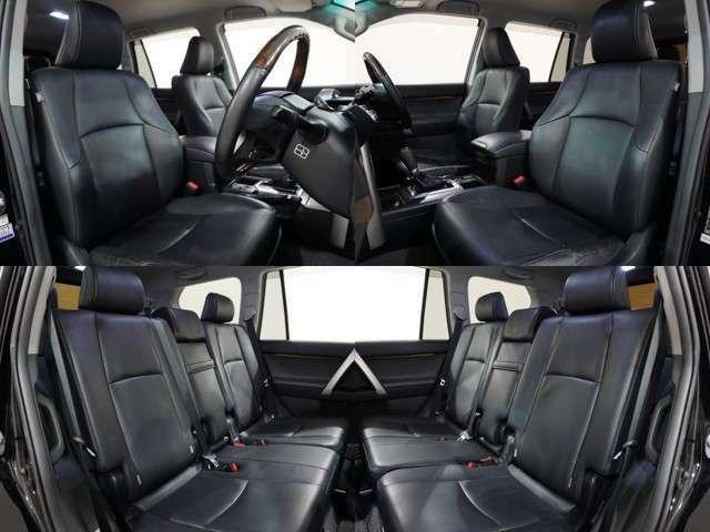 ◆◇本革シート&シートヒーター&パワーシート!!電動サードシート!!シートの質感や座り心地、是非、お客様の目でお確かめください♪◇◆