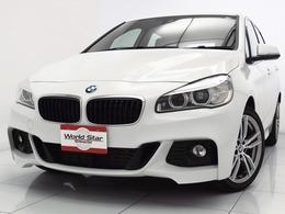 BMW 2シリーズアクティブツアラー 225i xドライブ Mスポーツ 4WD MエアロダイナミックP/ダブルスポーク18AW