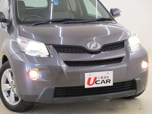 ディスチャージヘッドライト&フォグランプ装備 悪天候や夜道のドライブをサポートします。