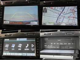 トヨタ純正HDDナビ 08545-K9028 ワンセグTV DVD&CD再生可能 SD録音&再生可 後退時に自動的にバックカメラの映像をナビ画面に表示します。