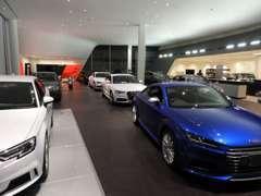 ショールーム内には12台を展示