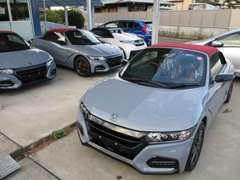 外車はポルシェに強く専用テスター完備・国産車はワゴン車からスポーツカーまで幅広く取り扱っております。各社ローン取り扱い。