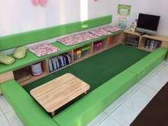 キッズルームを完備していますので、お子様も楽しくお過ごし頂けます。
