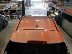 ガラスコーティング施工したお車を提供できます。