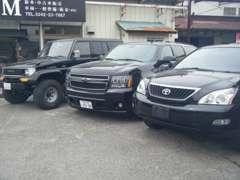 輸入車も取り扱っております。