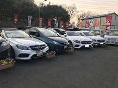 国産車、輸入車問わず豊富な在庫を取り揃えています!在庫にないお車もお探しします!