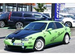 アルファ ロメオ アルファ156 2.5 V6 24V フルセグナビTV タイベル交換済フルエアロ