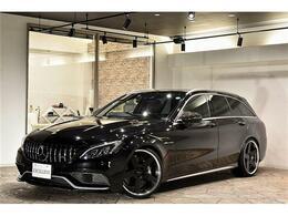 メルセデスAMG Cクラスワゴン C63 ハイパーフォージド ローダウン 白黒内装