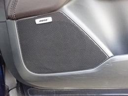 こだわりのBOSEサウンドシステムプラス9スピーカーで、包まれるような自然な音を体感いただけます。ドライブをより一層楽しめるサウンドシステム搭載です。