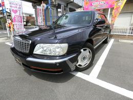 三菱 プラウディア 4.5 C仕様 黒革シート PWシート 純正16AW