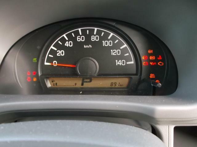 少ないスピードメーター
