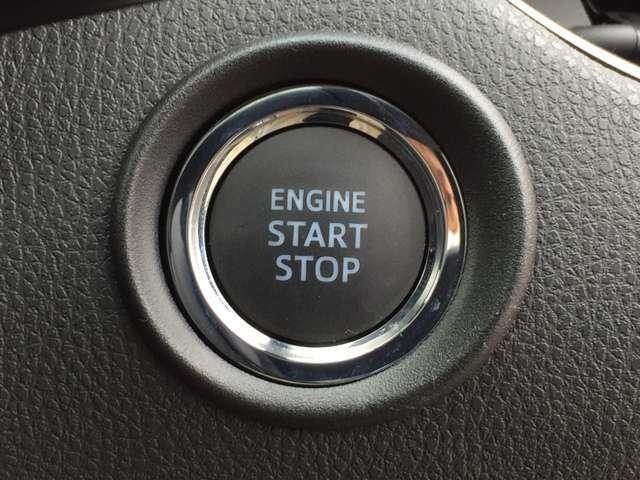 「スマートエントリー&スタートシステム」 カギを出さなくてもドアロック&解除、エンジンスタート&ストップが出来ます♪