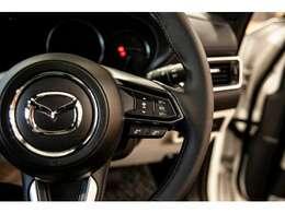 高速道路などアクセルを踏まずに設定速度での定速走行が可能なクルージングコントロールも手元で操作可能です。