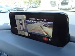 360°ビューカメラ搭載です!大きなボディサイズでもモニターの映像を見ながらの車庫入れが出来き安心ですね