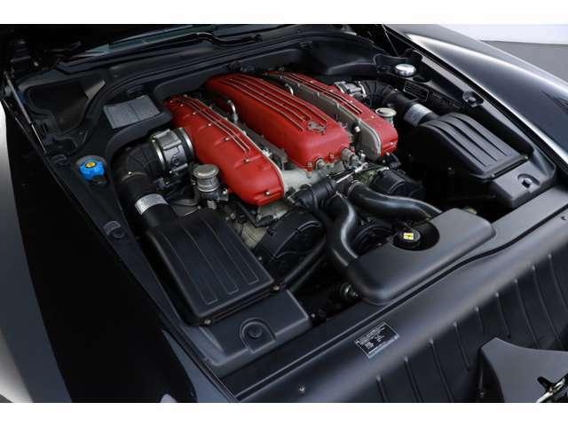 5.7V12DOHC、540PS/60.0Kgm