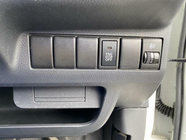 アイドリングストップ機能のOFFスイッチです!