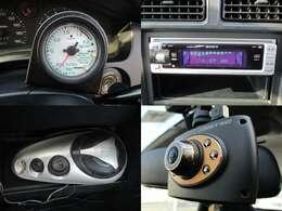 GREDDYブースト計 SONY製オーディオ 社外スピーカー ドラレコ