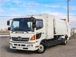 日野自動車 レンジャー プレス式パッカー車 容積10立米 増トン 計量器付 スケールパッカー車 連続スイッチ