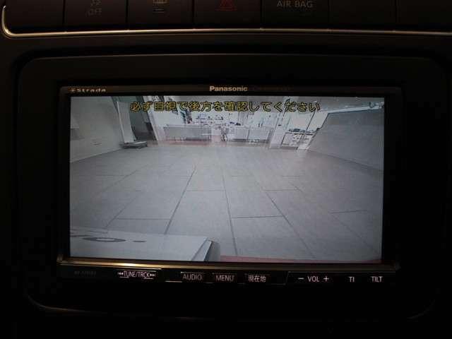 駐車が苦手な方にも安心なバックカメラ装備しています。