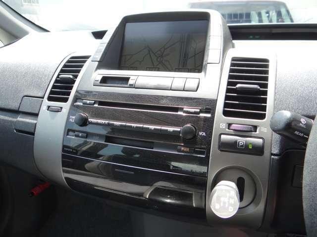 メインモニターで出来ることは、エネルギーモード、消費燃料(燃費)モニター、オートエアコン、オーディオ、と車輌の状況や便利機能が映し出される仕組みです。