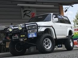 トヨタ ランドクルーザー80 4.5 VXリミテッド 4WD 1ナンバー 後期 WARN レカロ ナビ Defi ARB