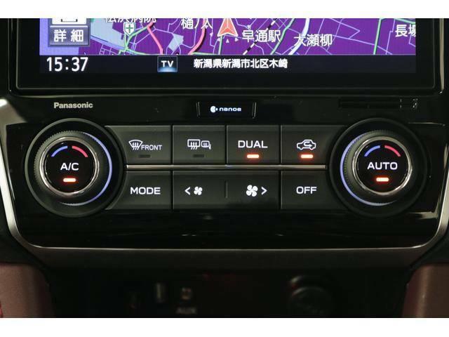 運転席と助手席の温度調整が個別にできるオートエアコンです!体感に合わせて快適にお過ごし頂けます♪