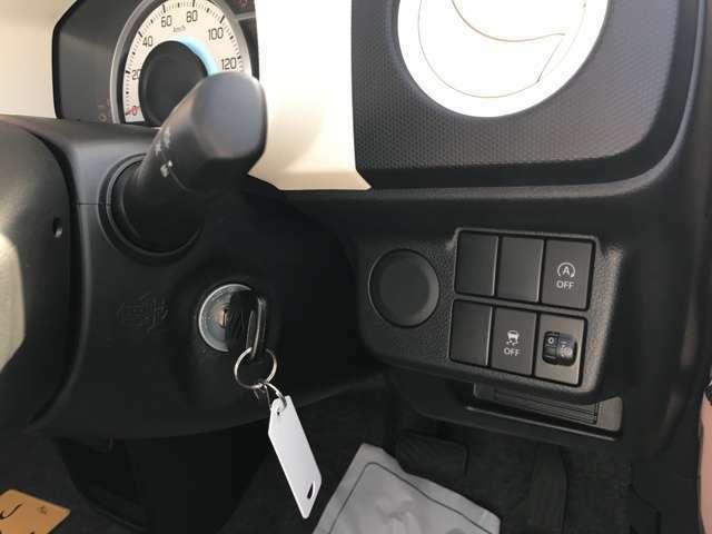 アイドリングストップやトランクションコントロールも付いていて低燃費&安全に運転できますね!!