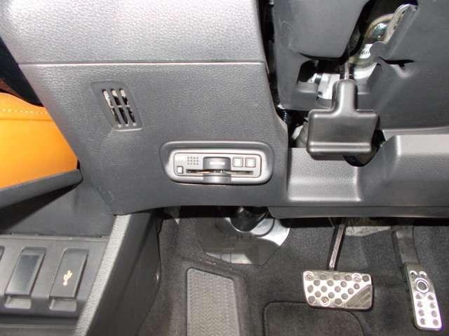 ETCは納車時にはセットアップしてお渡しいたしますので、カードを入れればすぐにお使いいただけます。USBジャックが付いてます☆♪♪