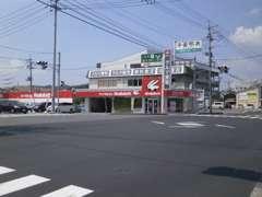 ☆国道486号線(旧2号線)の磯松交差点角地 すき家前です☆