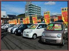 ☆人気の軽自動車のラインナップ☆格安にて展示中!是非一度ご来店されて、質の高さをご確認下さい!!