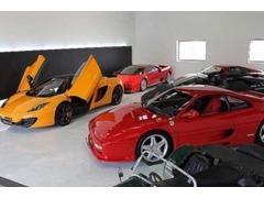 自社工場はフェラーリ・ランボルギーニ等、各種専用テスター完備