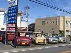 店舗はフジグラン石井から南へ。名西高等学校近くです。