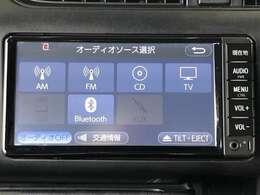 AM/FMラジオとCDチューナー付き Bluetooth対応したナビゲーションです