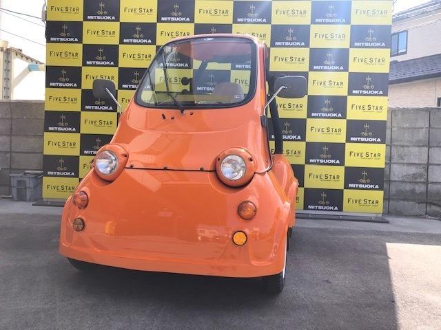 光岡自動車MC-1です。ショールーム展示車両につき走行距離が少ないです。