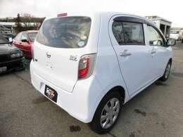 ★担当者からこの車について一言!燃費重視なら、お手頃なミライースはいかがでしょうか?車体も軽いのでキビキビ走ります!