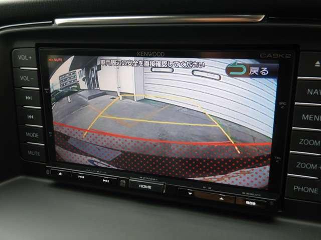 便利なバックカメラも装備しておりますので駐車もラクラク!