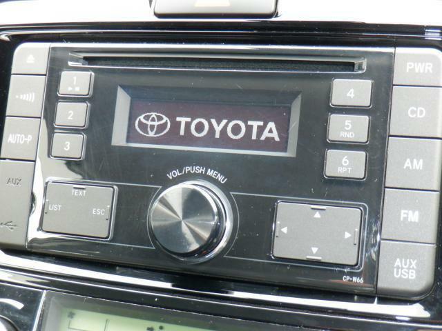 トヨタ純正CD、AM、FM