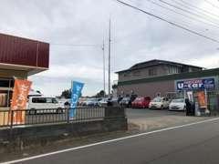 国道50号線沿いでアクセスが良好です!笠間西ICから水戸方面へ車で約15分!