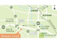 JR伊勢崎駅より車15分。女性でも一人で来店できるお店を目指しております。お気軽にお立ち寄りください。